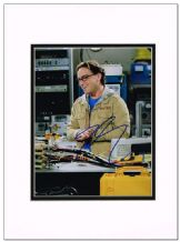 Johnny Galecki Autograph Photo Signed - The Big Bang Theory